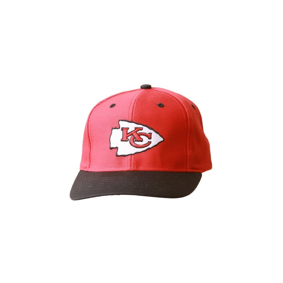 Kansas City Chiefs NFL Youth Snapback Hat   Red/Black Sports & Outdoors
