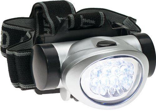 SE FL8288 8 Led Head Lamp   Adjustable Head Strap
