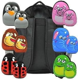 Large Elephant Light Weight Childrens Animal Hard Shell Luggage Travel Bag