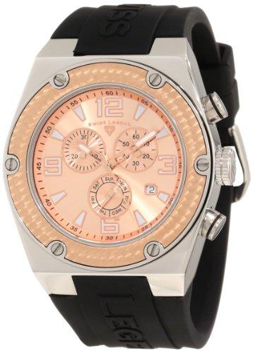 Swiss Legend Men's 30025-09-RB Throttle Chronograph Rose Dial Watch