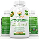 Phytoceramides by Pure Sun Naturals ● All Natural Anti Aging Healthy & Gluten-free Skin Supplement Derived from Rice ● Decrease Fine Lines & Wrinkles Naturally ● 30 Capsules - 30 Day Supply