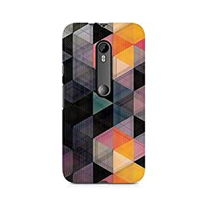 Ebby Hex Love Premium Printed Case For Moto X Play