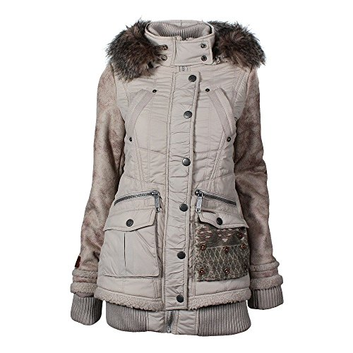 Khujo Ingri giacca invernale cream, Frauen:M