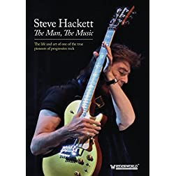 Hackett, Steve - The Man, The Music