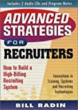img - for Advanced Strategies for Recruiters by Bill Radin (2003-06-01) book / textbook / text book