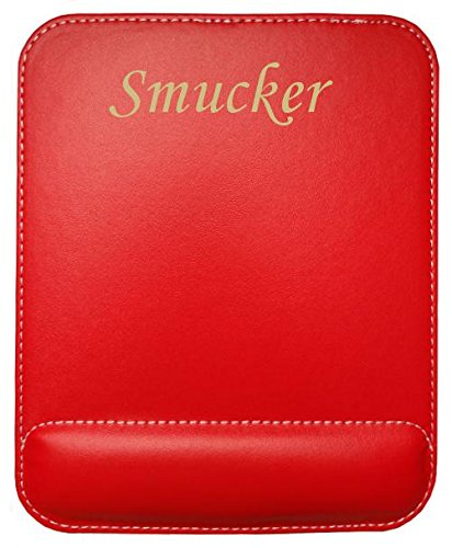 personalised-leatherette-mouse-pad-with-text-smucker-first-name-surname-nickname