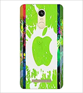 PrintDhaba Apple D-2887 Back Case Cover for XIAOMI REDMI NOTE 3 PRO (Multi-Coloured)