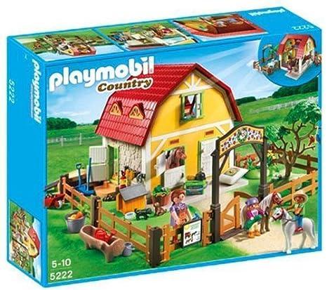 PLAYMOBIL 5222 - Ranch avec poneys