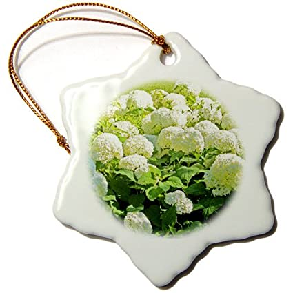 Snowflake Porcelain Ornament