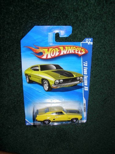 2010 HOT WHEELS ALL STARS 07/10 YELLOW '73 FORD FALCON XB