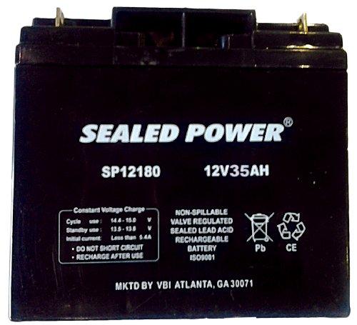 12Volt - 35Ah Rechargeable Sealed Lead Acid Battery