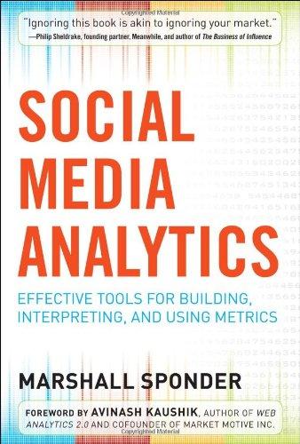 Social Media Analytics: Effective Tools For Building, Interpreting, And Using Metrics
