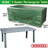 Bosmere B360 8-Seat Rectangular Table Cover