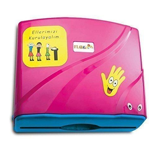 kids-paper-towel-dispensers-and-650-ml-liquid-soap-dispenser-spenderset-pink-by-nova