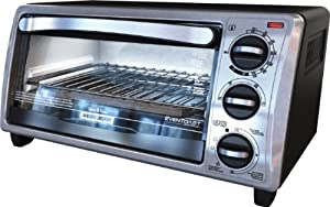 Black and Decker TO1313SBD 4-Slice Toaster Oven by Black & Decker