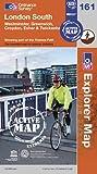 Ordnance Survey London South, Westminster, Greenwich, Croydon, Esher & Twickenham (OS Explorer Map Active)