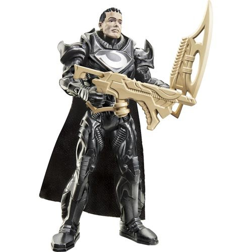 Superman Man of Steel Shadow Assault General Zod 3.75 inch Action Figure - 1
