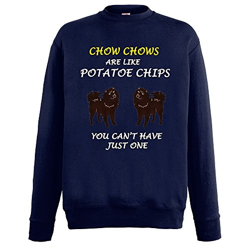 dogs-are-like-chips-chow-chows-blu-notte-fruit-of-the-loom-mens-sweatshirt-uomo-cotone-felpa-set-in-