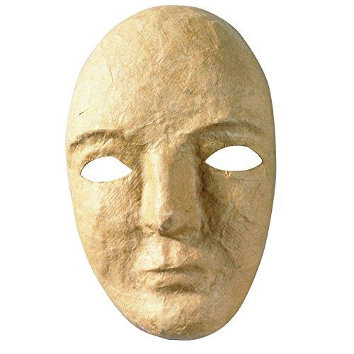 Chenille Kraft CK-4190 Paper Mache Mask, 0.5