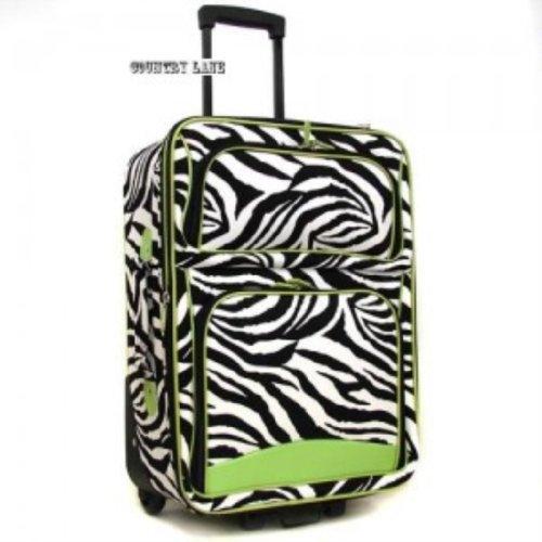 Ever Moda Designer Print 20-inch Expandable Carry