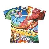 スペースハリアー フルプリント Tシャツ Space Harrier Full-Print T-shirt