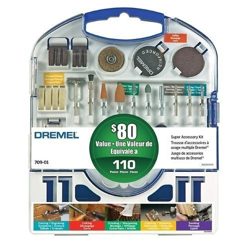 Dremel 709-01 Super Accessory Kit, 110-Piece