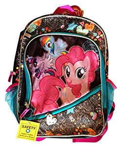 My Little Pony 16 Inch Sequined Shimmery Backpack