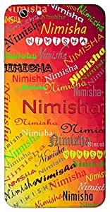 Nimisha (Momentary) Name & Sign Printed All over customize & Personalized!! Protective back cover for your Smart Phone : Moto X-Play