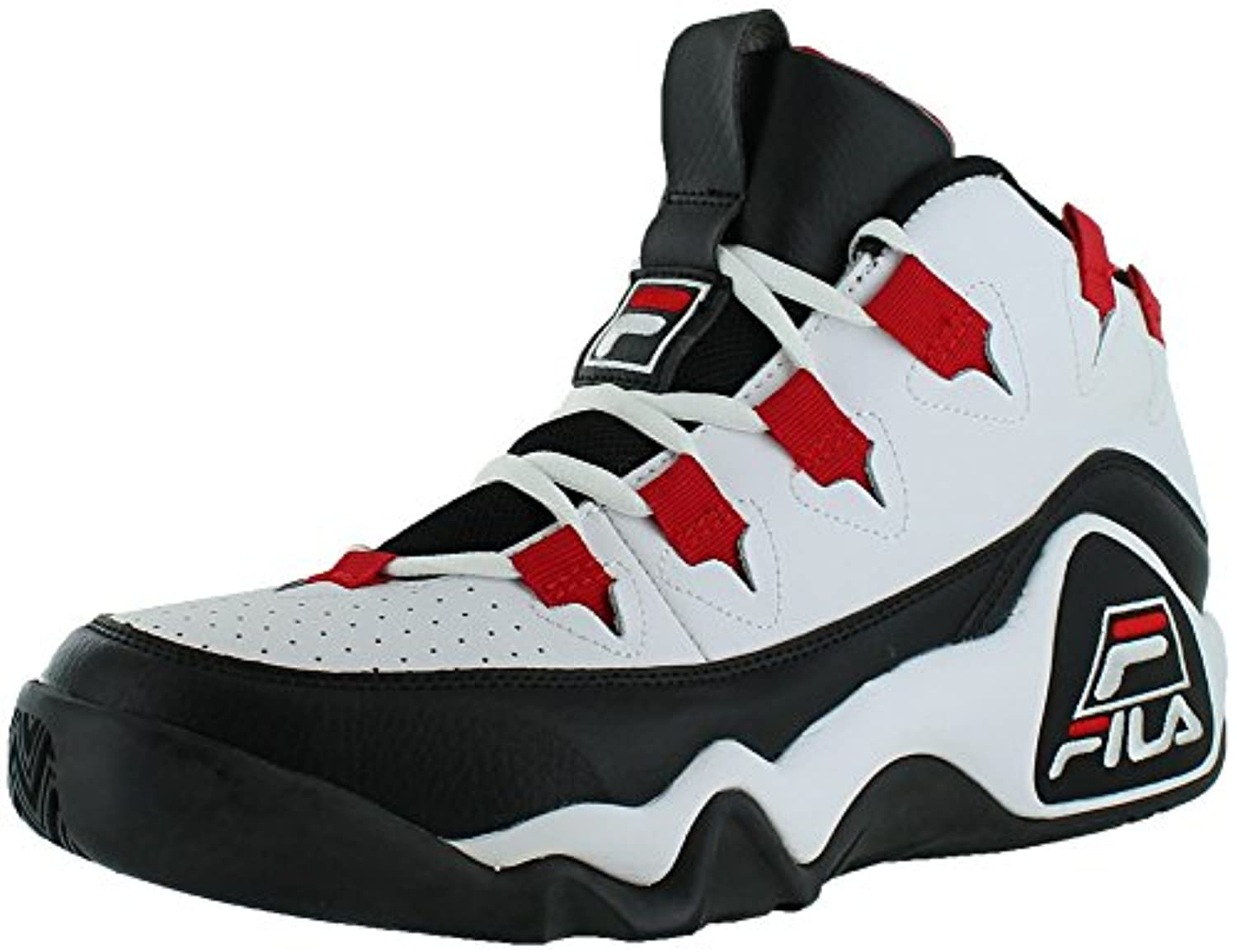 Fila Red Black And White Shoes