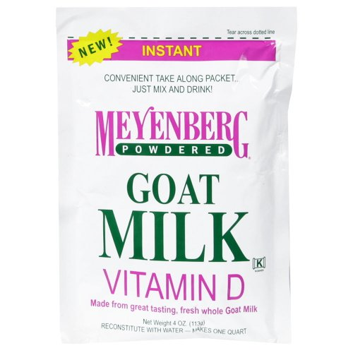 Meyenberg Goat Milk, Powder, 4-Ounce (Pack Of 6)