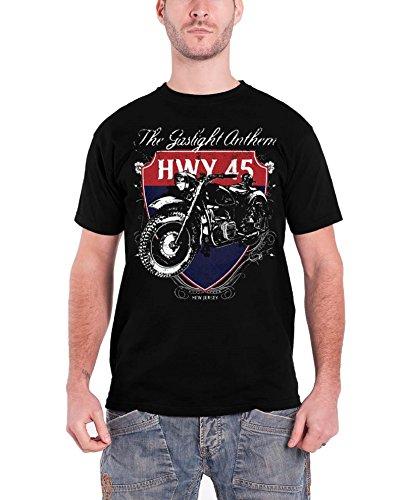 Gaslight Anthem -  T-shirt - Maniche corte  - Uomo nero X-Large
