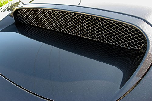 GrillCraft SUB1722B MX Series Black Hood Scoop 1pc Mesh Grill Grille Insert for Subaru Impreza WRX Hood Scoop (2014 Wrx Grill compare prices)