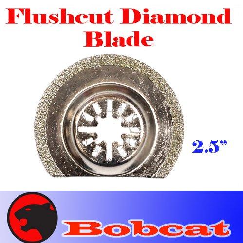 Diamond Semi Round Grout Tile Cut Oscillating Multi Tool Saw Blades For Fein Multimaster Bosch Multi-X Craftsman Nextec Dremel Multi-Max Ridgid Dremel Chicago