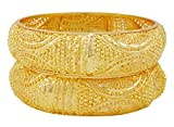 Banithani Ethnic Traditional Indian 18k Gold PlatedKada Bangle Set Jewelry Gift For Her 26