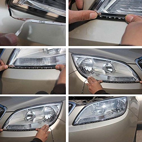everbright 30cm 5050 12 smd dc12v 4 pieces waterproof led strip light for car interior. Black Bedroom Furniture Sets. Home Design Ideas