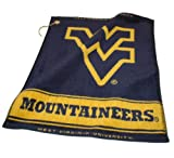 NCAA West Virginia University Woven Team Golf Towel at Amazon.com
