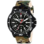 """Timex Men's T49965 """"Expedition Uplander"""" Watch with Camo Nylon Band"""