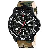 Timex Men's T49965 Expedition Uplander Watch with Camo Nylon Band