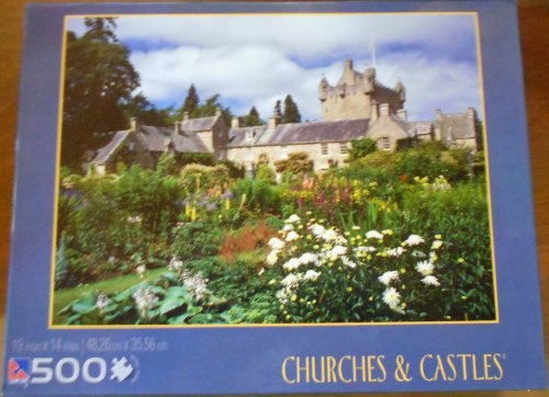 Cawdor Castle Gardens 500 Piece Puzzle - Churches & Castles