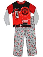 Character Boys Manchester United FC Pyjamas Ages 7 to 13 Years