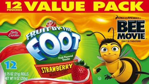 Buy Fruit by the Foot, Strawberry Bee Movie, 10-Count Value Pack (Pack of 6) (General Mills, Health & Personal Care, Products, Food & Snacks, Breakfast Foods, Cereals)