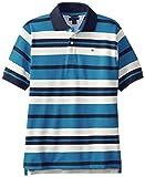 Tommy Hilfiger Big Boys Short Sleeve Leroy Stripe Polo