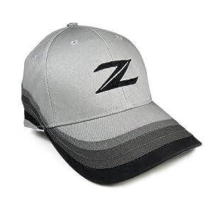 Nissan 370 Z Logo Grey Baseball Cap