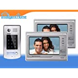 Video Door Phone Intercom Entry DUO System Touch Screen Monitors (4-wire series)by Intelligent Home