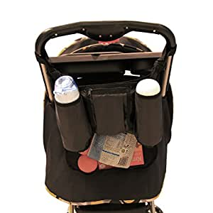 buy damero easy stroller travel carry buggy organizer bag car seat organizer black online at. Black Bedroom Furniture Sets. Home Design Ideas
