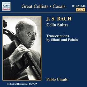 6 suites pour violoncelle seul