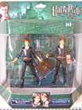 Harry Potter - Deluxe Action Figures - The Weasley Twins (Fred and George) 2 Pack - Order of the Pheonix