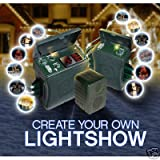 Gemmy Holiday Musical Light Show w/ Extra Control Box ~ Gemmy