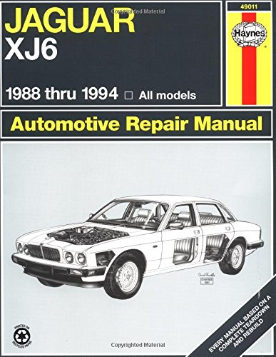 Jaguar Xj6 1988 Thru 1994: All Models (Haynes Manuals) front-403921