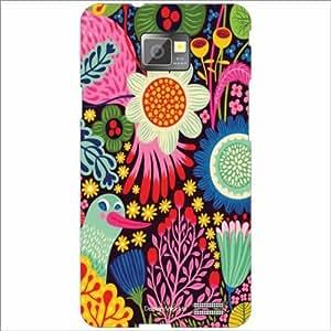 Design Worlds - Samsung I9100 Galaxy S2 Designer Back Cover Case - Multicol...